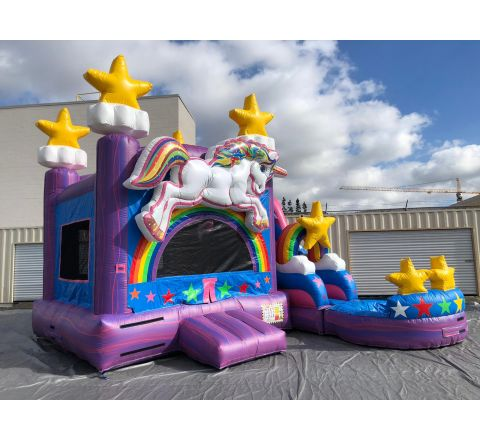 5 in 1  Unicorn Water Slide combo (SKU w448)