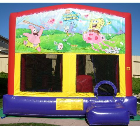 Sponge Bob Bounce House Combo Jumper 6 in 1 Rental in San Diego