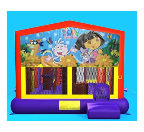 Dora Combo Jumper Rental in San Diego