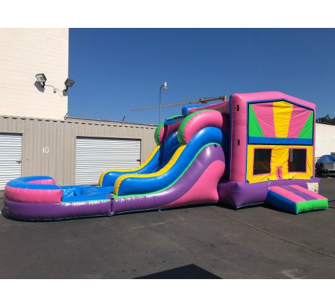 Happy Bounce Water Slide combo  (SkU w457)
