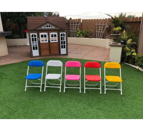 Kids Folding Chairs Rental in San Diego