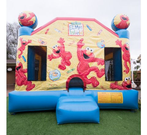 Elmo's World Jump Jumper Rental in San Diego